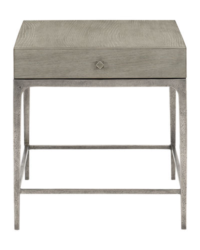 Linea Textured Finish End Table