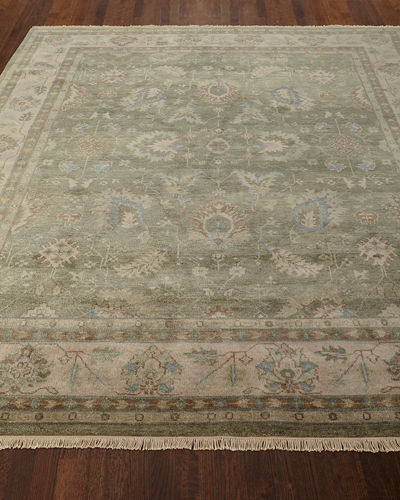 Peterson Hand-Knotted Rug, 8' x 10'