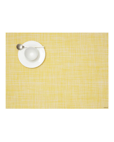 "Chilewich Mini Basket Weave Placemat, 14"" x 19"""
