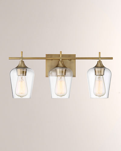 Octave 3-Light Bath Bar Sconce