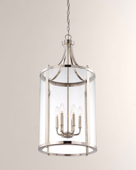 Image 2 of 3: Penrose 6-Light Medium Foyer Lighting Pendant