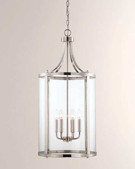 Image 1 of 3: Penrose 6-Light Medium Foyer Lighting Pendant