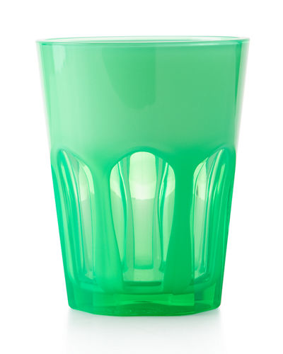 Double Face Acrylic Tumbler Glass