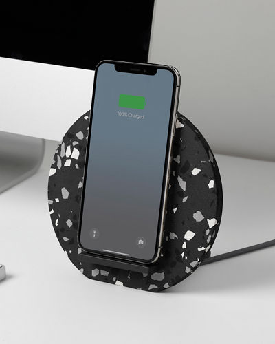 Terrazzo Wireless Charging Dock