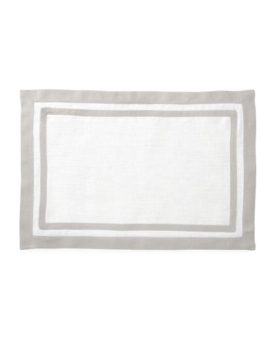 Matouk Casual Couture Rectangle Placemats, Set of 4