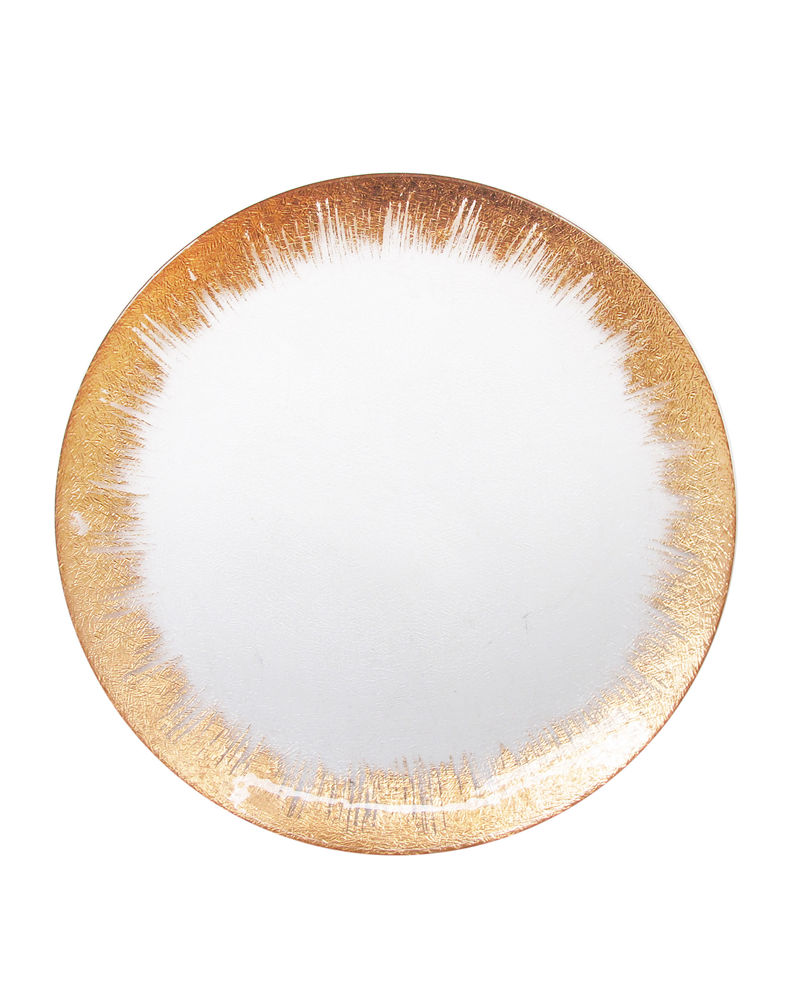 Selene Glass Charger Plate