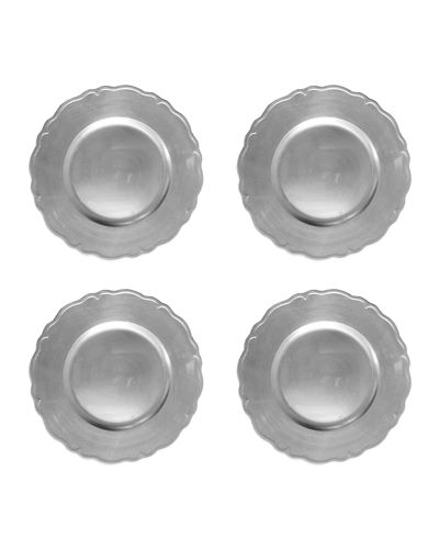 Regency Chargers, Set of 4