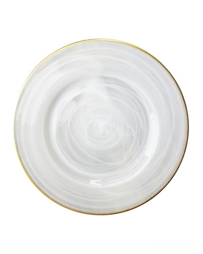 Alabaster Charger Plate