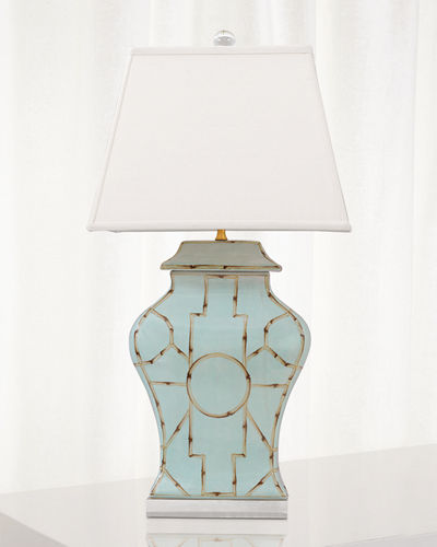 Scalamandre for Port 68 Baldwin Table Lamp