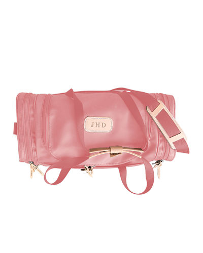 Monogrammed Small Square Duffel Bag