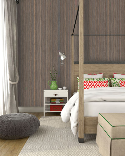 Grasscloth Removable Wallpaper