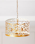 Couture Lamps Laser Cut Studded Pendant