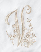 Boutross Imports Initial Monogram Cocktail Napkins, Set of