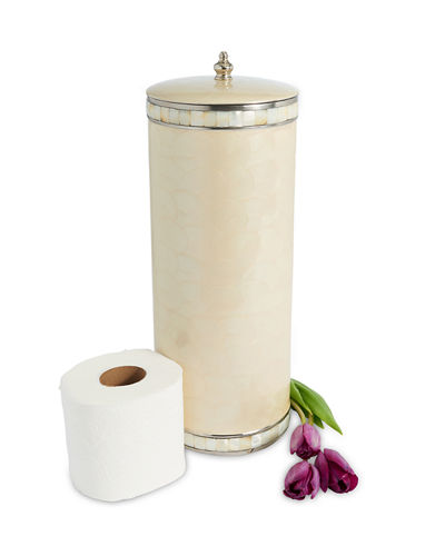 Julia Knight Classic Toilet Tissue Covered Holder