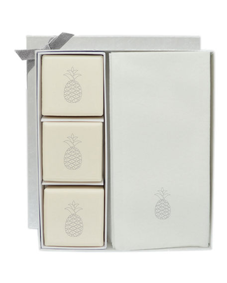 Carved Solutions Eco-Luxury Pineapple Courtesy Gift Set