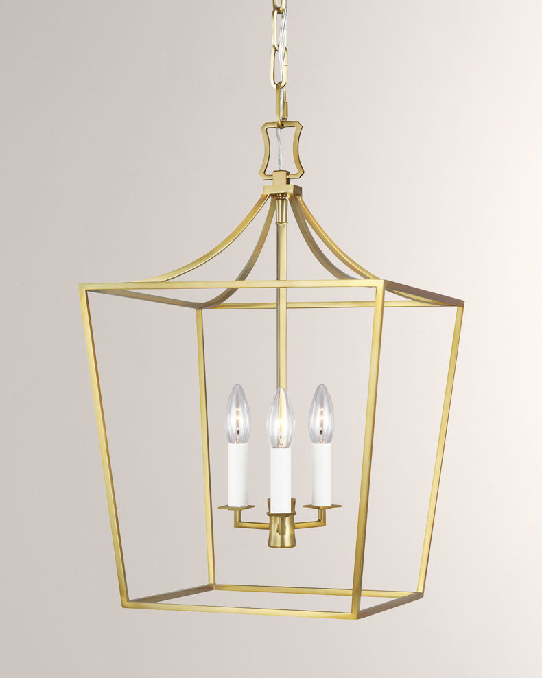 C&M by Chapman and Myers Southold 3-Light Lantern