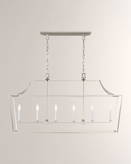 Image 2 of 2: C&M by Chapman and Myers Southold 6-Light Linear Lantern