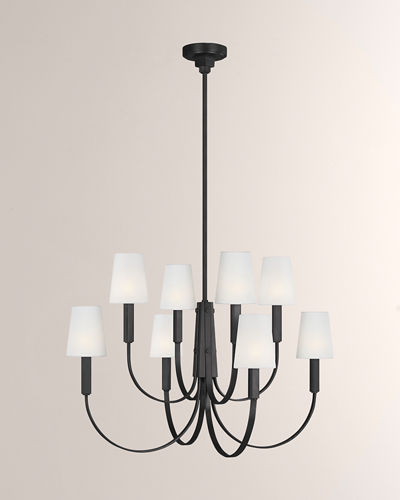 TOB by Thomas O'Brien Logan 8-Light Chandelier