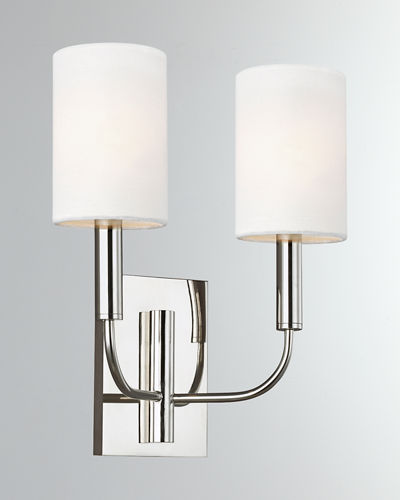 Brianna 2-Light Wall Sconce