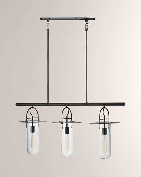 Image 1 of 2: Kelly by Kelly Wearstler Linear 3-Light Chandelier