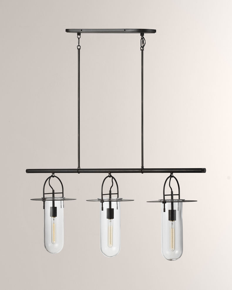 Kelly by Kelly Wearstler Linear 3-Light Chandelier