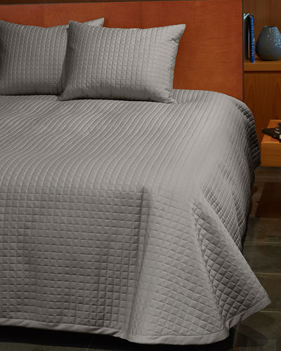Masaccio King Quilted Coverlet