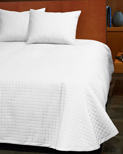 Masaccio Queen Quilted Coverlet