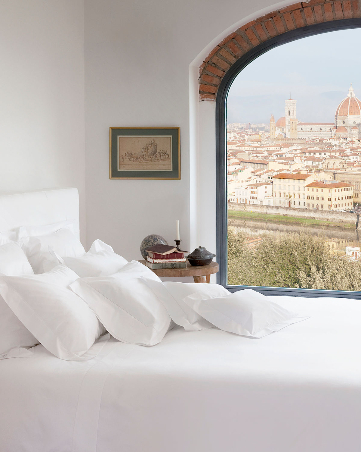 Signoria Di Firenze Tuscan Dreams King Flat Sheet