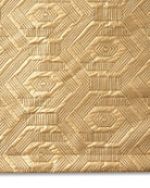Dian Austin Couture Home Metallic Geometric Quilted Queen