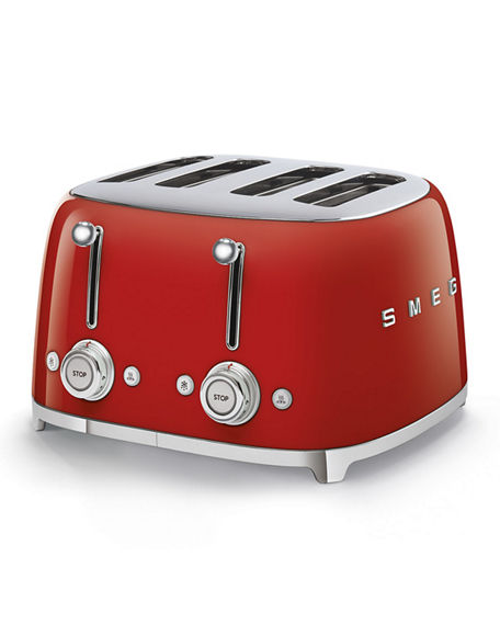 Smeg Retro 4 Slot Toaster