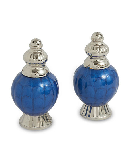 "Julia Knight Peony 4"" Salt And Pepper Set"