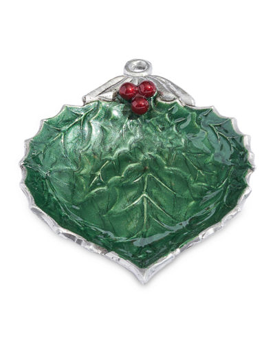 Holly Sprig 7 Ornament Bowl
