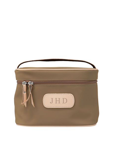 Jon Hart Personalized Coated Canvas Makeup Case