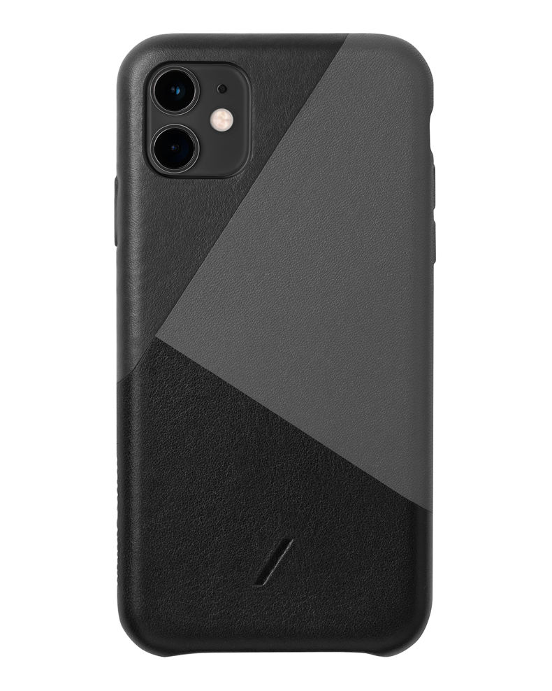 Native Union Clic Marquetry Protective Leather Case for iPhone 11