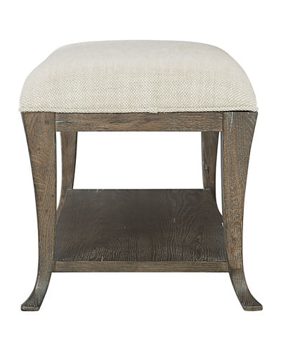Bernhardt Rustic Patina Upholstered Bench