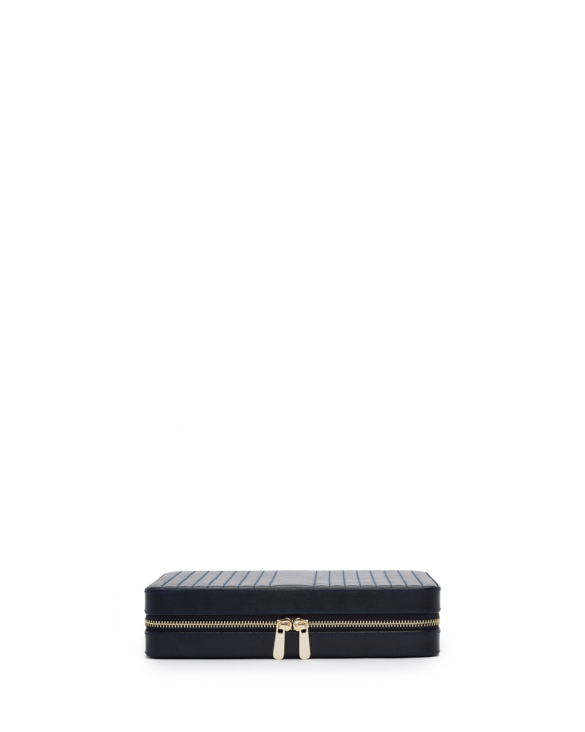 Maria Large Quilted Zip Jewelry Case