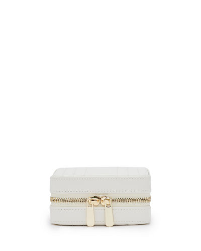 Maria Square Quilted Zip Jewelry Case