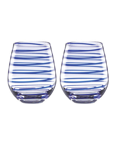 charlotte st stemless wine glasses