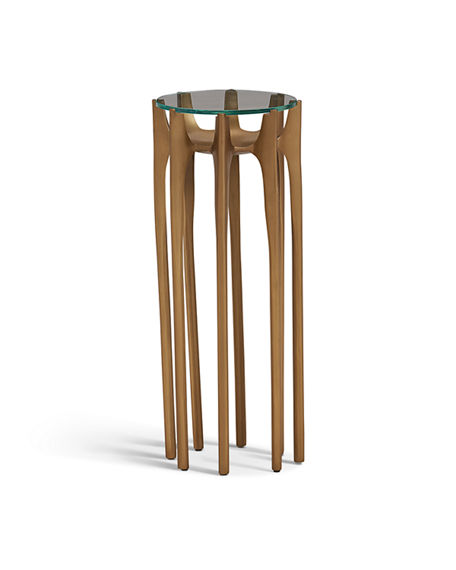 Image 2 of 2: Global Views Aquilo Accent Table