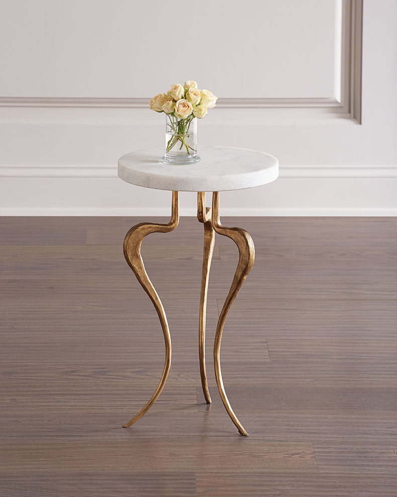 Global Views Silhouette Accent Table