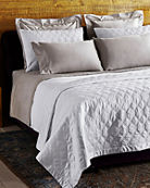 Frette at Home Orpheum King Light Quilt and