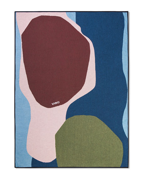 VISO Abstract Tapestry Cotton Blanket