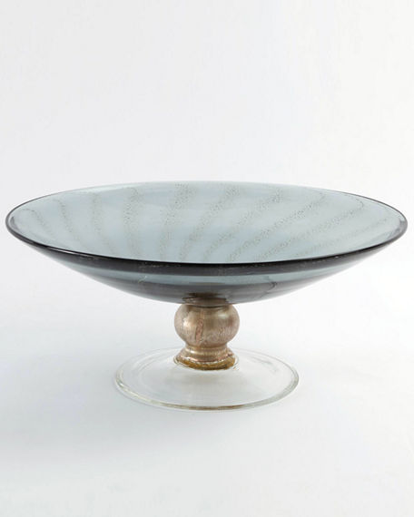 William D Scott Spiral Palace Footed Bowl