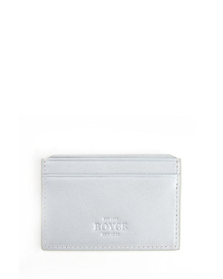 ROYCE New York RFID Blocking Credit Card Case