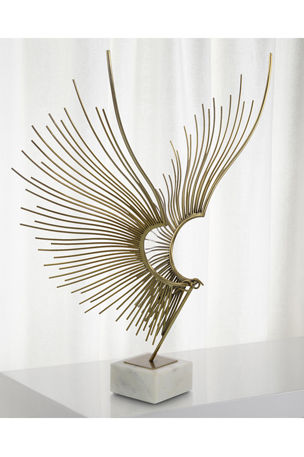 John-Richard Collection Abstract Bird Sculpture