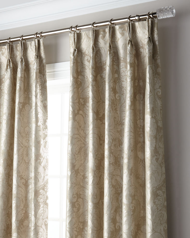 Misti Thomas Modern Luxuries Bellamy 3-Fold Pinch Pleat Blackout Curtain Panel, 96""