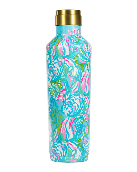 Lilly Pulitzer Stainless Steel Wine Canteen