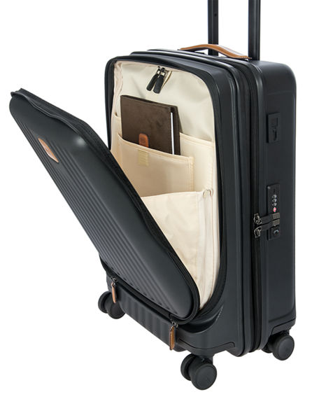 "Image 4 of 5: Bric's Capri 2.0 21"" Spinner Luggage with Pocket"
