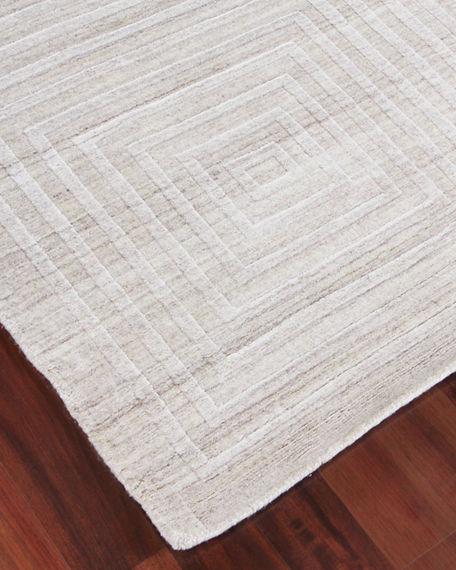 Image 2 of 4: Exquisite Rugs Portlyn Hand-Loomed Rug, 8' x 10'