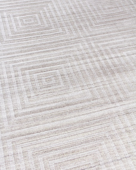 Image 4 of 4: Exquisite Rugs Portlyn Hand-Loomed Rug, 8' x 10'